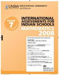 Iais 2008 Question Paper Booklet : Mathematics 2008 - Class 7 [2008 Iais]