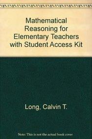 MATHEMATC REASONING ELEM SCHOOL TCHR&MXL PK (6th Edition)