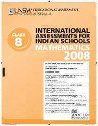 Iais 2008 Question Paper Booklet : Mathematics 2008 - Class 8 [2008 Iais]