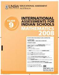 Iais 2008 Question Paper Booklet : Mathematics 2008 - Class 9 [2008 Iais]