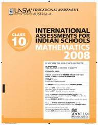 Iais 2008 Question Paper Booklet : Mathematics 2008 - Class 10 [2008 Iais]