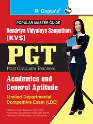 Popular Master Guide Kendriya Vidyalaya Sangathan Pgt Academics & General Aptitude