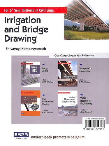 Buy Irrigation & Bridge Drawing For 5 Sem Diploma In Civil