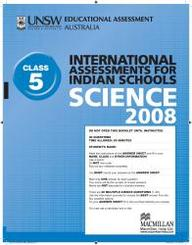 Iais 2008 Question Paper Booklet : Science 2008 - Class 5 [2008 Iais]