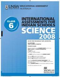 Iais 2008 Question Paper Booklet : Science 2008 - Class 6 [2008 Iais]