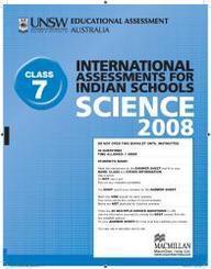 Iais 2008 Question Paper Booklet : Science 2008 - Class 7 [2008 Iais]