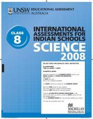 Iais 2008 Question Paper Booklet : Science 2008 - Class 8 [2008 Iais]