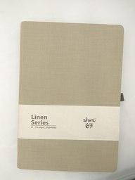 Beige Linen Series Note Book