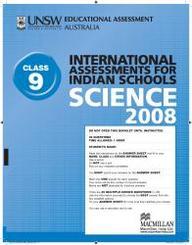 Iais 2008 Question Paper Booklet : Science 2008 - Class 9 [2008 Iais]