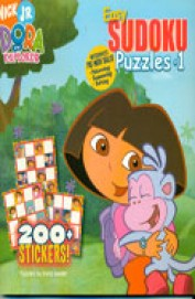 Easy Sudoku Puzzles 1 : Nick Jr Dora The Explorer