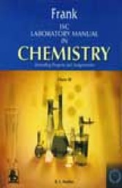 Buy Frank Isc Laboratory Manual In Chemistry Class 11 book : Rl