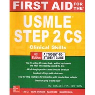 First Aid For The Usmle Step 2 Cs Clinical Skills
