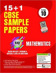 Ead Mathematics Class 10 For 15+1 Sample Papers : Cbse