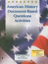 Document Based Questions in American History