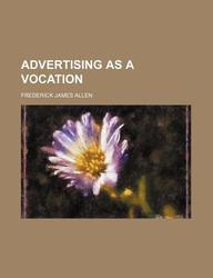Advertising as a Vocation