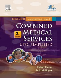 Elsevier Comprehensive Guide To Combined Medical Services Upsc Simplified: 2nd Edition