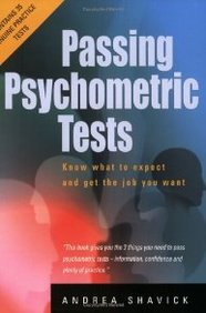 Passing Psychometric Tests