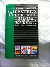 New International Websters Pocket Grammar Dictionary
