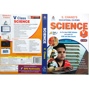 S Chand Educational CD-Rom: Science For Class-5 (With 3 CDs)