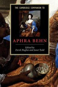 Cambridge Companion To Aphra Behn