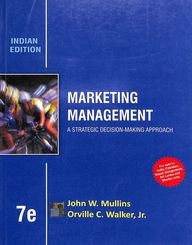 Marketing Management A Strategic Decision Makeing Approach