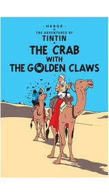Adventures Of Tintin Crab With The Golden Claws