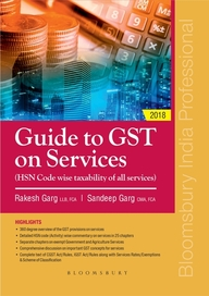 Guide To Gst On Services : Hsn Code Wise Taxability Of All Services