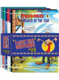 Laugh With Suppandi Pack Of : 8