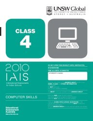 Iais 2010 Question Paper Booklet : Computer Skills 2010 - Class 4 [2010 Iais]