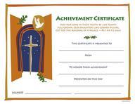 Achievement Certificate Grades 6- 12[ Pkg 12] : Recommended for Grades 6- 12