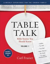 Table Talk Volume 1- Pastor's Program Kit: Bible Stories You Should Know