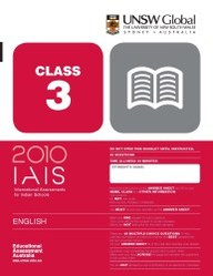Iais 2010 Question Paper Booklet : English 2010 Class 3 [2010 Iais]