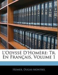 L'Odyss D'Hom Re: Tr. En Fran Ais, Volume 1