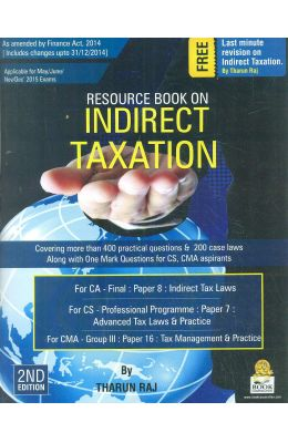 Resource Book On Indirect Taxation