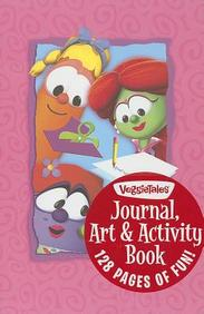 Journal, Art & Activity Book For Girls: Veggie Tales