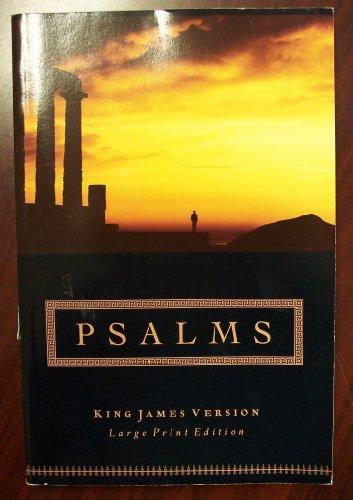 Buy Large Print Psalms-KJV book : American Bible Society