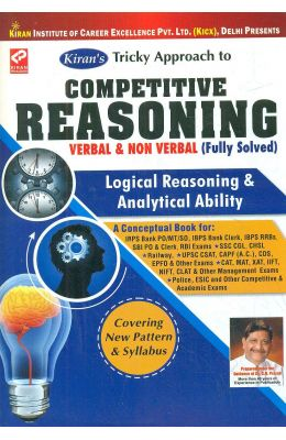 Competitive Reasoning Verbal & Non Verbal Fully Solved Logical Reasoning & Analytical Ability