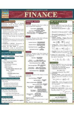 Finance Laminate Reference Chart