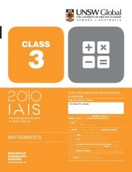 Iais 2010 Question Paper Booklet : Mathematics 2010 - Class 3 [2010 Iais]