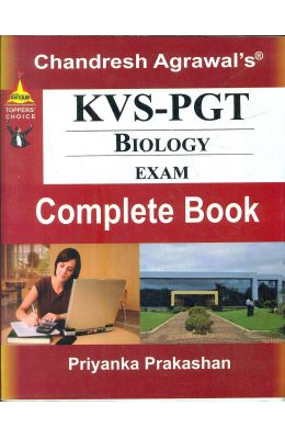 Kvs Pgt Biology Exam Complete Book