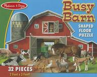 Busy Barn Shaped Floor Puzzle (32 Pieces) : Busy Barn Shaped Floor Puzzle (32 Pieces)