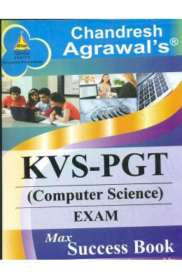 Kvs Pgt Computer Science Exam Max Success Book