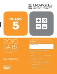 Iais 2010 Question Paper Booklet : Mathematics 2010 - Class 5 [2010 Iais]