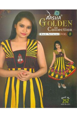 Aasha Golden Collection Neck Patterns Vol 8