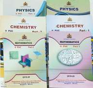 Pcm Text Books For 2nd Puc Set Of 6 Books : Government Of Karnataka