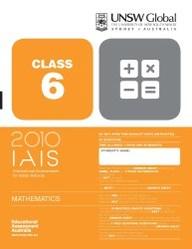 Iais 2010 Question Paper Booklet : Mathematics 2010 - Class 6 [2010 Iais]