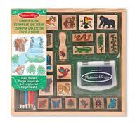 Stamp-A-Scene - Rain Forest