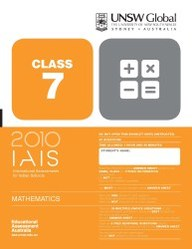 Iais 2010 Question Paper Booklet : Mathematics 2010 - Class 7 [2010 Iais]