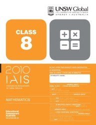 Iais 2010 Question Paper Booklet : Mathematics 2010 - Class 8 [2010 Iais]