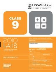 Iais 2010 Question Paper Booklet : Mathematics 2010 - Class 9 [2010 Iais]